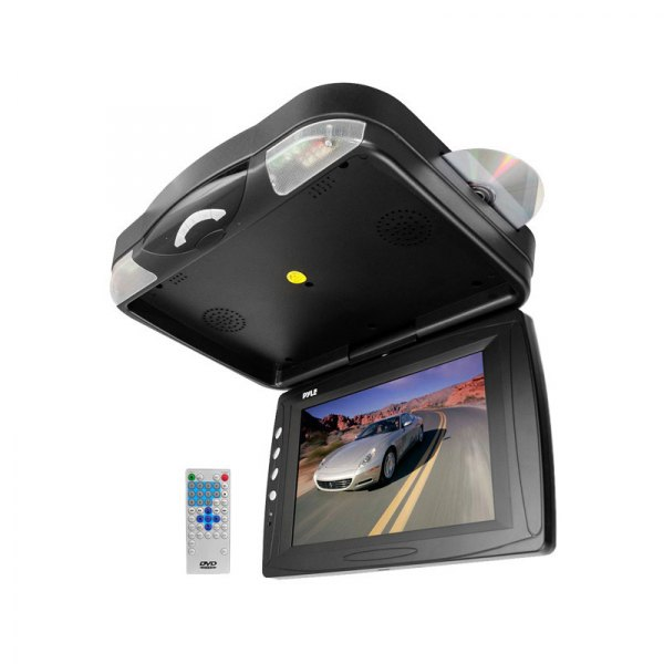 "Pyle® - 12.1"" Flip Down TFT Monitor with Built-In DVD Player"
