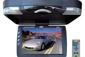 "Pyle® - 14.1"" Flip Down TFT Monitor with Built-In DVD Player"
