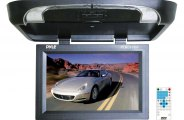 Pyle® - Flip Down Monitor with Built-In DVD Player