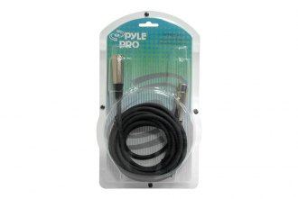 Pyle® - 15' XLR Male to XLR Female Microphone Cable