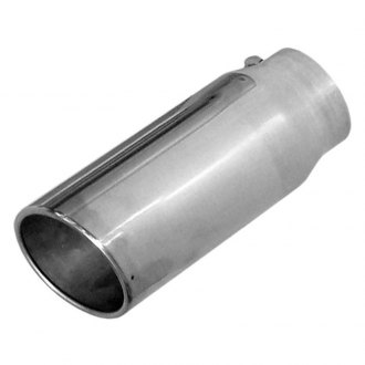 Pypes® - Monster Truck 304 SS Round Angle Cut Exhaust Tip