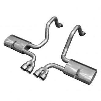 Pypes® - 304 SS Sling Shot Cat-Back Exhaust System