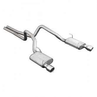 Pypes® - Exhaust System with Split Rear Exit
