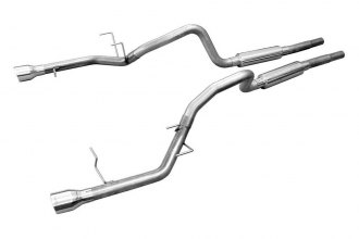 Pypes® - Stainless Steel Cat-Back Exhaust System with Mid-Mufflers