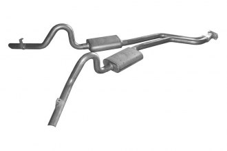 Pypes® - Cat-Back Exhaust System with Street-Pro Mufflers