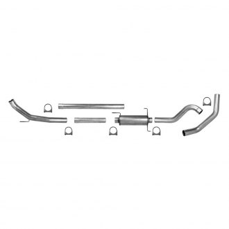 Pypes® - 409 SS Turbo-Back Exhaust System with Single Side Exit