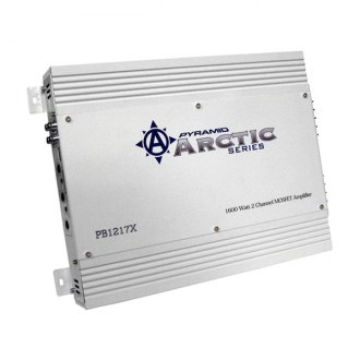 Pyramid® - Arctic Series Class AB 2-Channel 1600W Amplifier