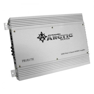 Pyramid® - Arctic Series Class AB 4-Channel Bridgeable 2000W Mosfet Amplifier