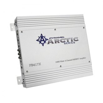 Pyramid® - Arctic Series Class AB 4-Channel 1000W Amplifier