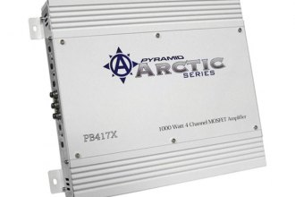 Pyramid® - Arctic Series Class AB 4-Channel Bridgeable 1000W Mosfet Amplifier
