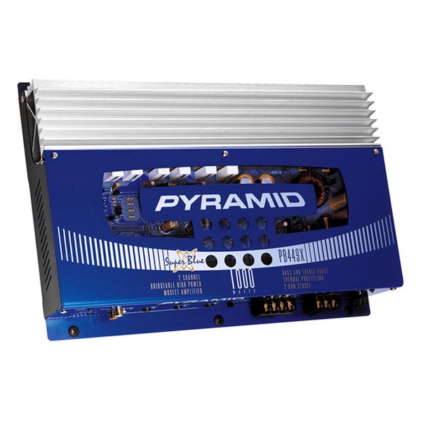 Pyramid® - Super Blue 1000W 2-Channel Mosfet Amplifier