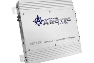 Pyramid® - Arctic Series 1000W 2-Channel Bridgeable Mosfet Amplifier