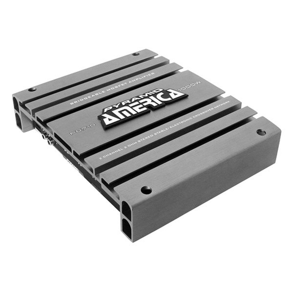 Pyramid® - 1000W 2-Channel America Bridgeable Mosfet Amplifier