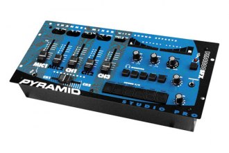 Pyramid® - 4-Channel Rack Mount Stereo Dj Mixer