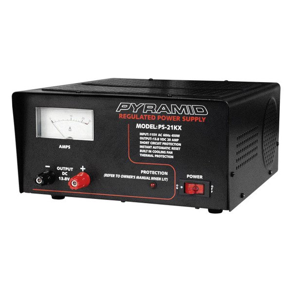 Pyramid® - 20 Amp Power Supply with Ammeter