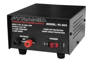 Pyramid® - 2.5 Amp Power Supply
