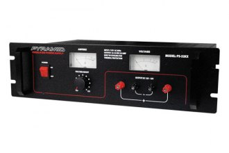 Pyramid® - 46 Amp Power Supply with Ammeter and Voltmeter