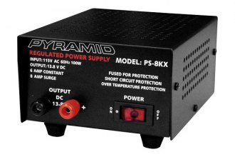 Pyramid® - 6 Amp Power Supply