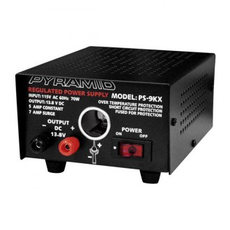Pyramid® - 70W 5A 12V Power Supply with Cigarette Lighter Plug