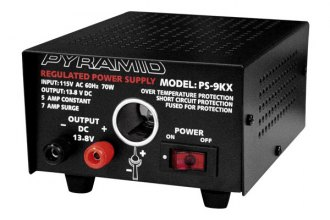 Pyramid® - 5 Amp Power Supply with Cigarette Lighter Plug