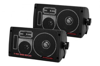 Pyramid® - 300W 3-Way Mini Box Speaker System