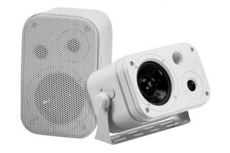 Pyramid® - 2-Way Indoor/Outdoor Waterproof Speaker System