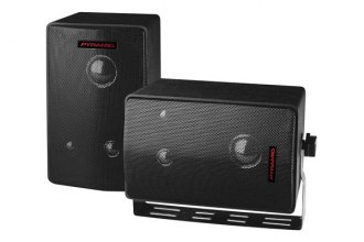Pyramid® - 400W 3-Way Mini Box Speaker System