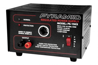 Pyramid® - 10 Amp Power Supply without Cigarette Lighter Plug