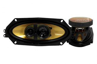 "Pyramid® - 4"" X 10"" 3-Way 300 Watts Speakers"