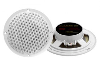 "Pyramid® MDC6 - 5.25"" 100W Dual Cone Waterproof Marine Stereo Speakers"