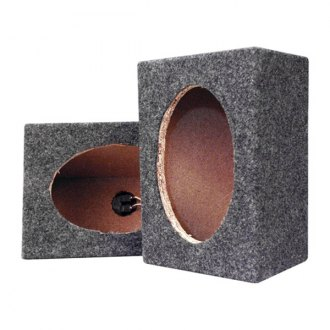 "Pyramid® - 6"" x 9"" Empty Carpeted Subwoofer Box"