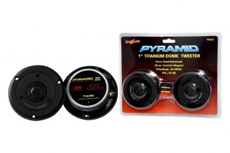 "Pyramid® - 1"" 120 Watts Titainium Dome Tweeter"