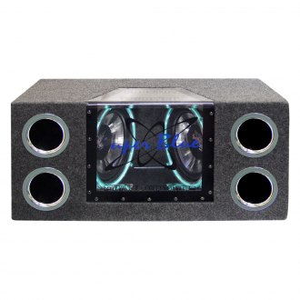 "Pyramid® - 10"" Super Blue Series Dual 2-Way Bandpass Passive 1000W Subwoofer Enclosure"