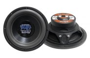 "Pyramid® PW1286X - 12"" 1000W Strong Black Paper Cone Subwoofer"