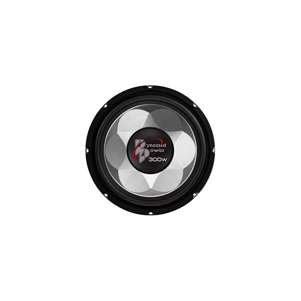 "Pyramid® - 6"" 300W Injection-Molded P.P. Cone Subwoofer"