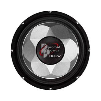 "Pyramid® - 6"" Injection-Molded P.P. Cone 300W Subwoofer"
