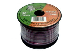 Pyramid® RSW1650 - 16 Gauge 50' Spool of High Quality Speaker Zip Wire
