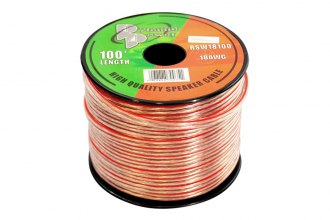 Pyramid® - 18 Gauge Spool of High Quality Speaker Zip Wire