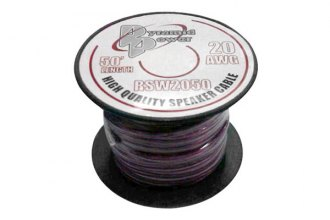 Pyramid® RSW2050 - 20 Gauge 50' Spool of High Quality Speaker Zip Wire