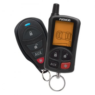 Python® - LCD 2-Way Security and Remote Start System