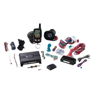 Python® - LCD 2-Way Security System with Remote Start and 4-Button Remote