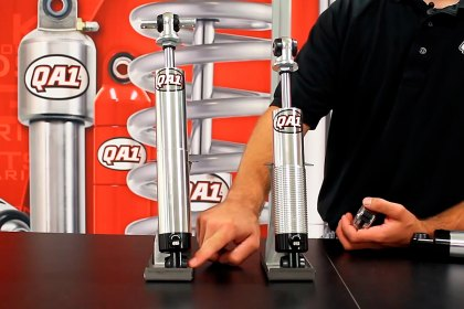 GR401-10350A - QA1® Pro Series Front Lowering Coilover Shock Absorber System (HD)