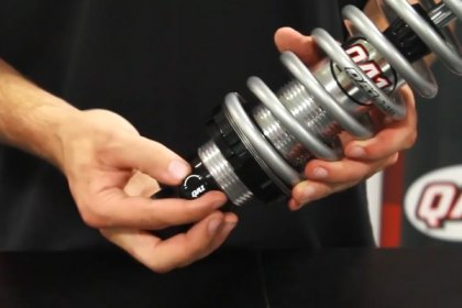 QA1® Change Ride Height Valving on Single Adjustable Coilover Shocks (HD)