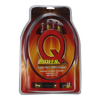 QPower® - Amplifier Copper Wiring Kit