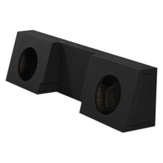 QPower® - 2-Hole Forward-Firing Sealed Subwoofer Enclosure