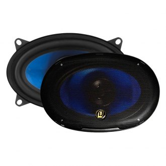 "QPower® - 4"" x 6"" 2-Way 400W Coaxial Speakers"