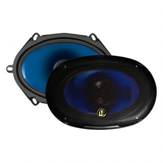 "QPower® - 5"" x 7"" 2-Way 500W Coaxial Speakers"
