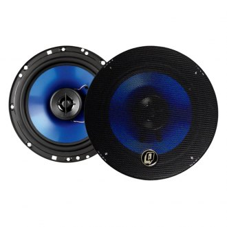 "QPower® - 6-1/2"" 2-Way 500W Coaxial Speakers"