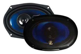 "QPower® - 6"" x 9"" 3-Way 500W Car Speakers"
