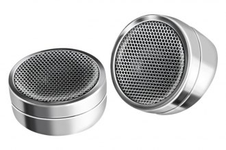 "QPower® - 1"" Blister Packed 300W Chrome Dome Tweeters"